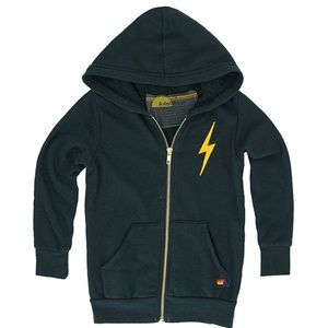 Aviator Nation Kid's Bolt Hoodie Size 10
